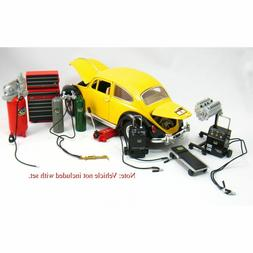 Kinsfun 1:18 Scale CAR GARAGE MECHANIC Diorama Accessories