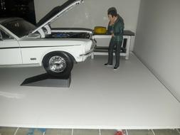 1:18 Scale Car Ramps  Accessories For Garage Diorama 1/18th