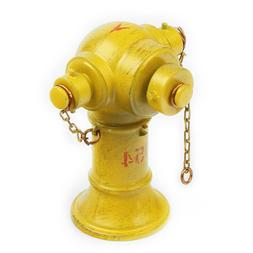 1/18car model site accessories, fire hydrant, yellow alloy m