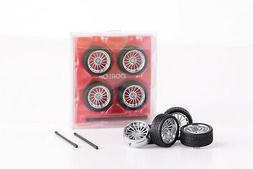 1:43 Stance Tuning Wheel Set Chrome Excluded model car Dorlo