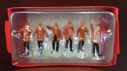 1/50 Scale Site Scene accessories 6pcs Red workers Fit CAT C
