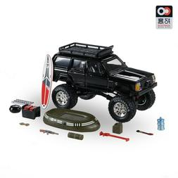 XCarToys 1:64 Jeep Cherokee 2nd Black Off Road Monster Car W