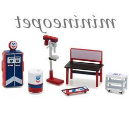 GREENLIGHT 13157 MUSCLE SHOP TOOLS STANDARD OIL ACCESSORIES