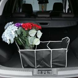 1pc Useful Car Organizer Boot Stuff Foldable Accessories Int