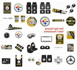 NFL Pittsburgh Steelers Pick Your Gear Automotive Accessorie