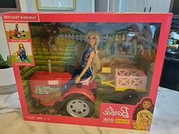 Barbie Careers Farmer Doll and Tractor with Themed Accessori