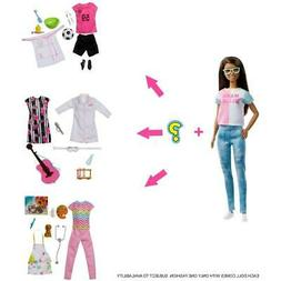 Barbie Careers Surprise Closet Doll with Glasses and Accesso