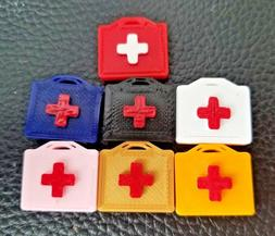 Choose Color RC 1/10 Scale First Aid Kit Box Accessories Roc