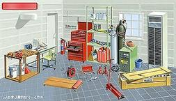 Fujimi Garage and Tool Series GT2 Tools 1/24 scale kit 11505