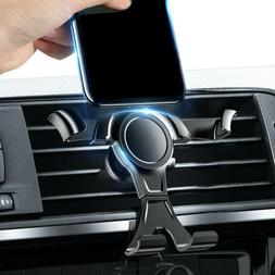 gravity phone holder air vent outlet clamp