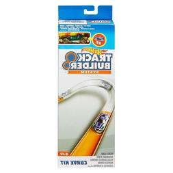 Hot-Wheels Track Builder Curve Kit Accessory with car IMPERF