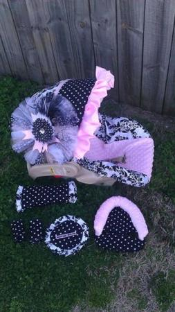 Infant Carseat Cover Baby Car Seat Cover Baby Girl