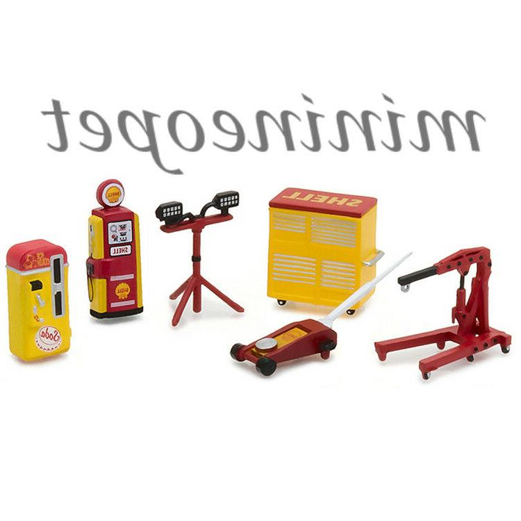 13158 muscle shop tools shell oil accessories