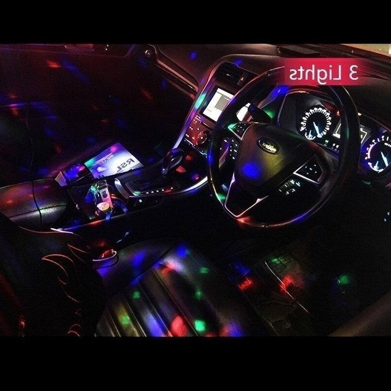 2019 Multi Color USB Interior Lighting Kit Atmosphere Neon Colorful Portable <font><b>Accessories</b></font>