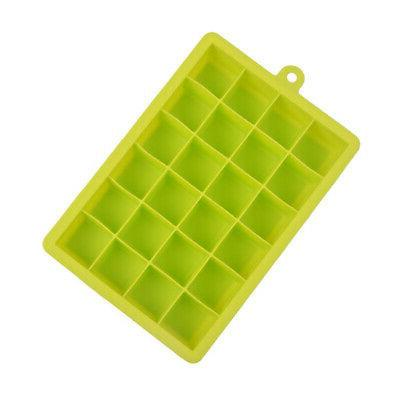 24 Jelly Silicone Maker Mold Cube