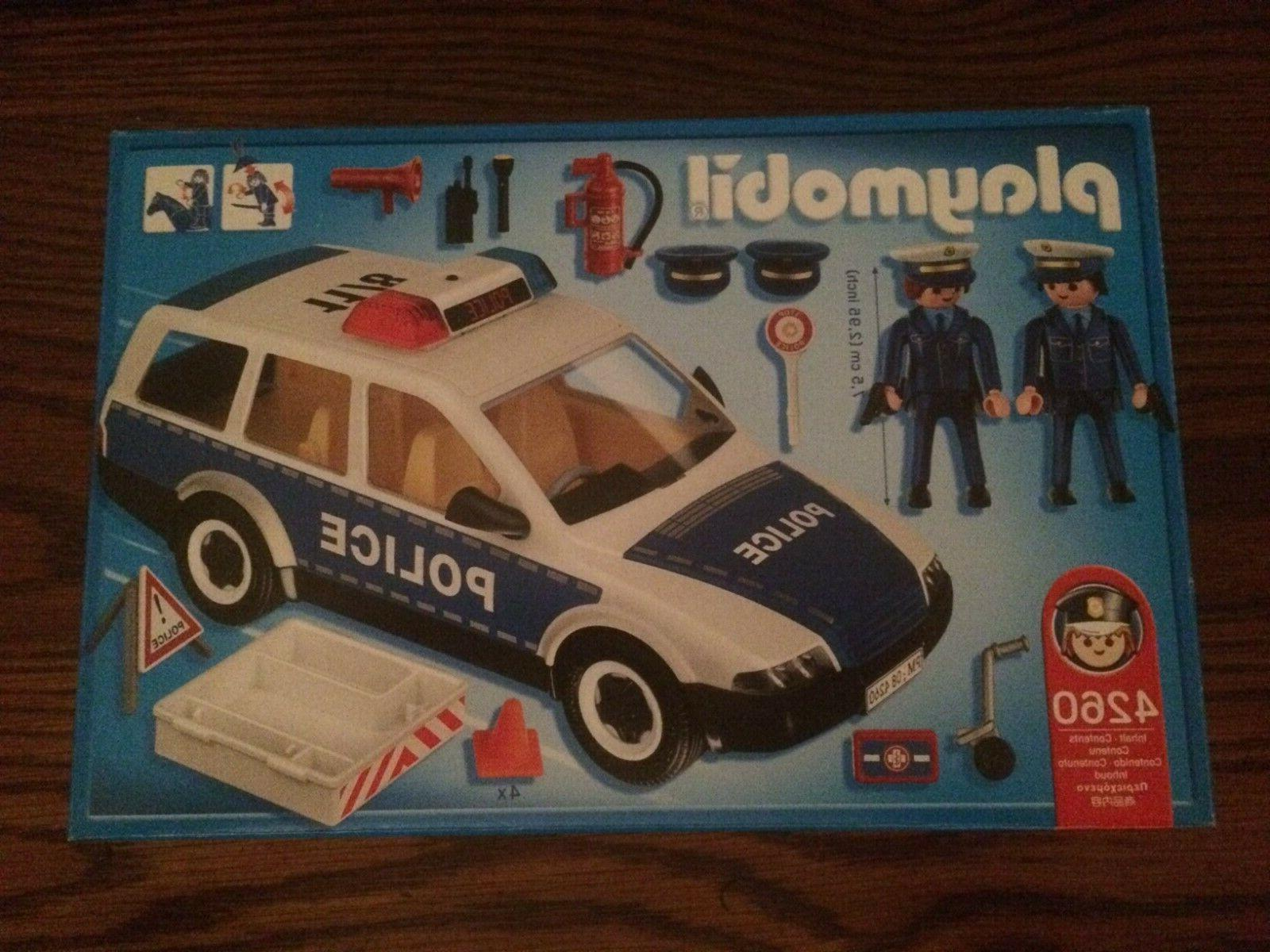 Playmobil Patrol Car with Officiers
