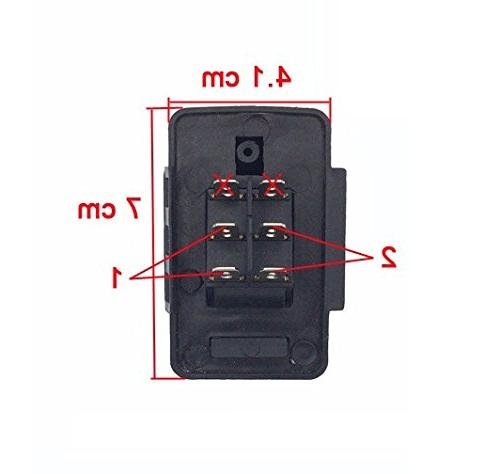 Accelerator Pedal Electric Ride On Replacement 6-pin Socket