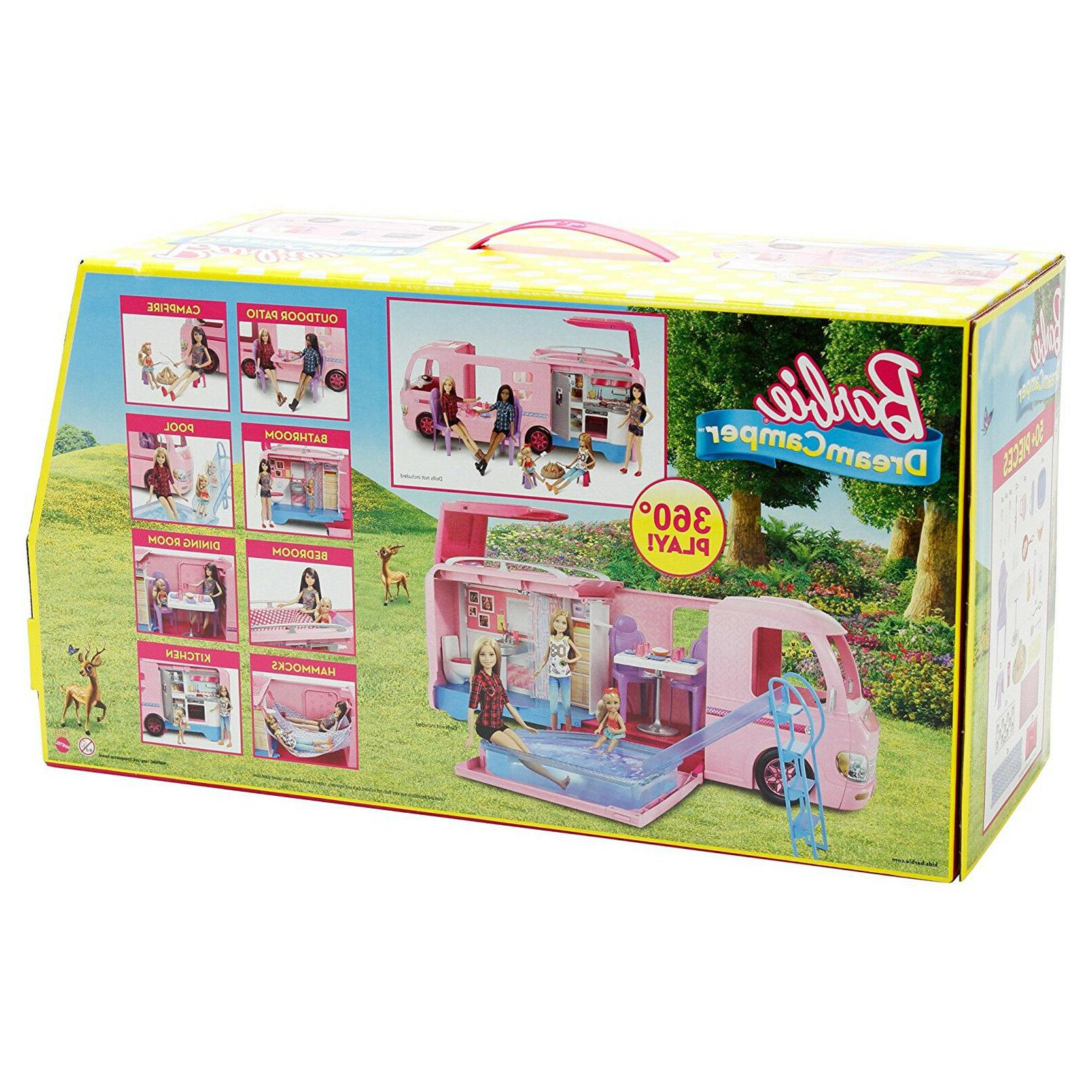Barbie House Vehicle Accessories Doll Playset Pop Up