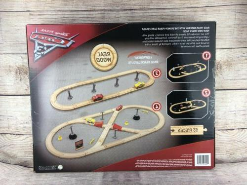 Disney Cars Wooden Track Set Pieces Accessories -
