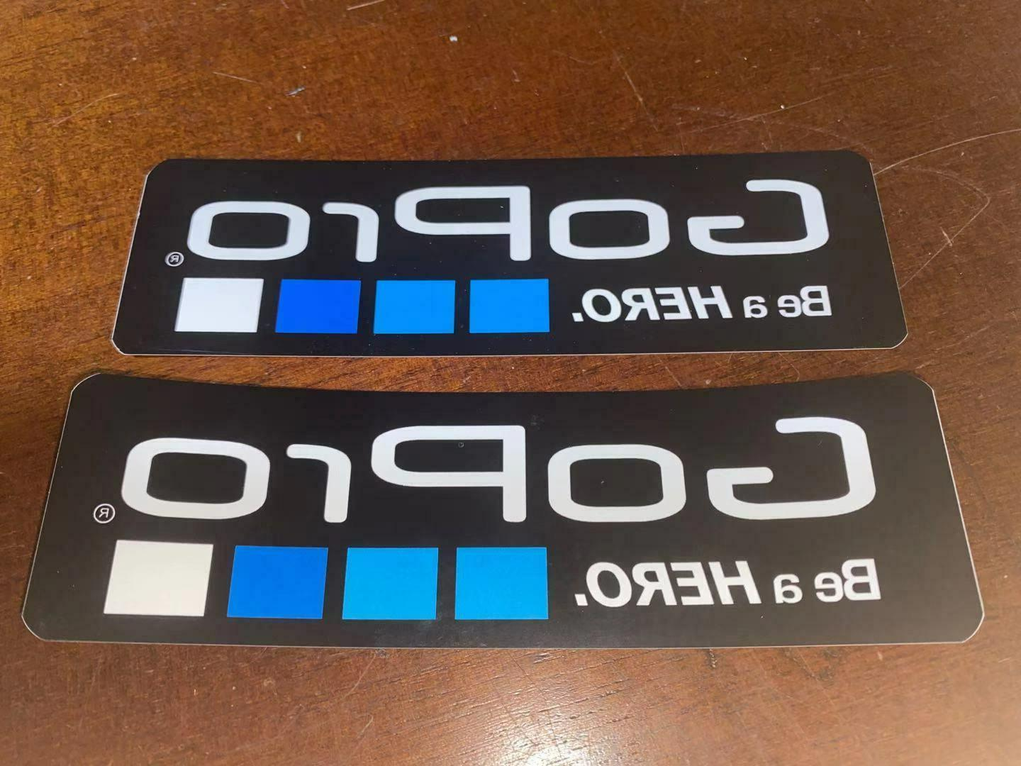 New 2Pcs Stickers Decal For Accessories Helmet Car