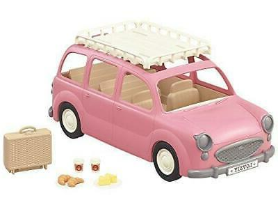 CALICO CRITTERS Pink Picnic Wagon Car & accessories exchange