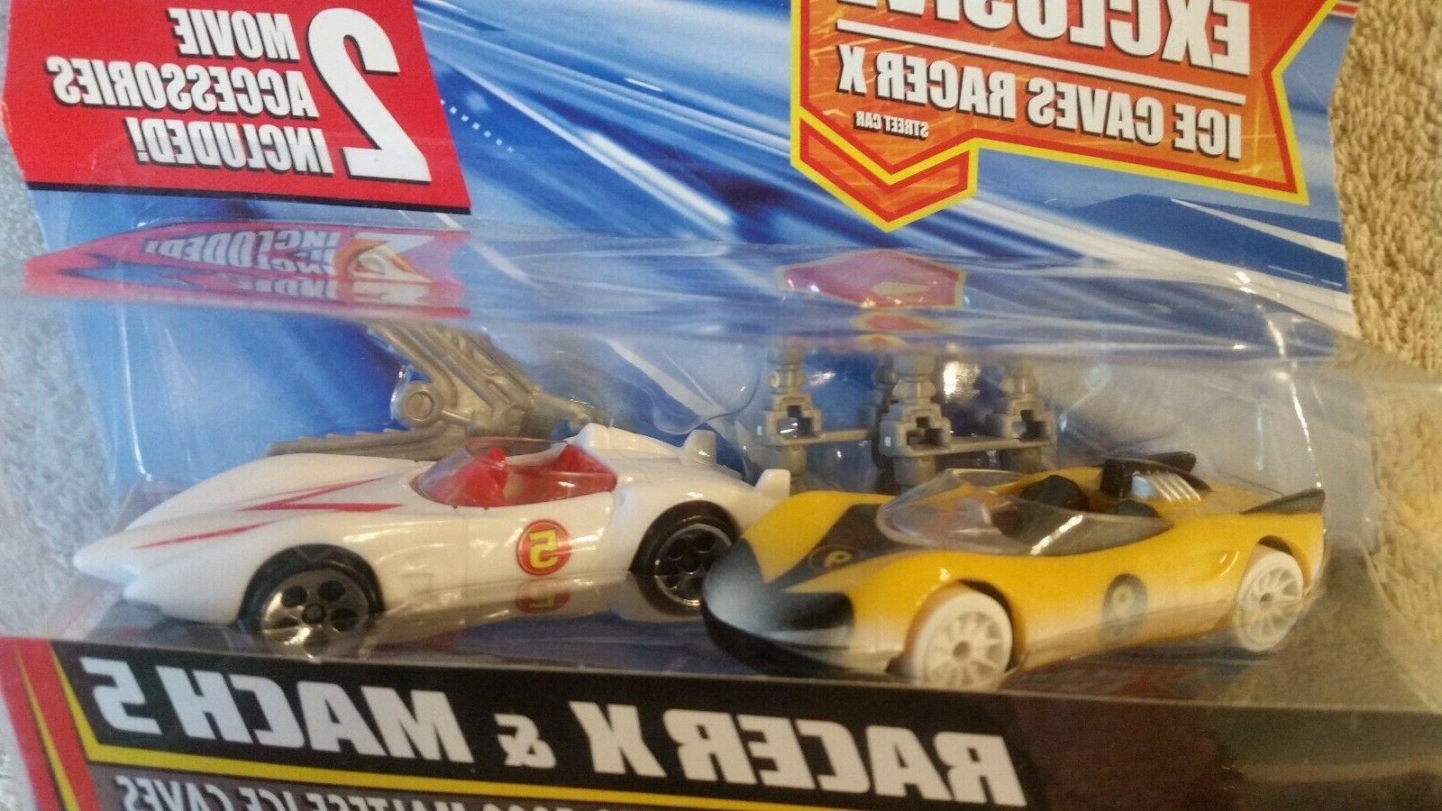 Hot Wheels Racer Racer X Mach 5 2 set with accessories