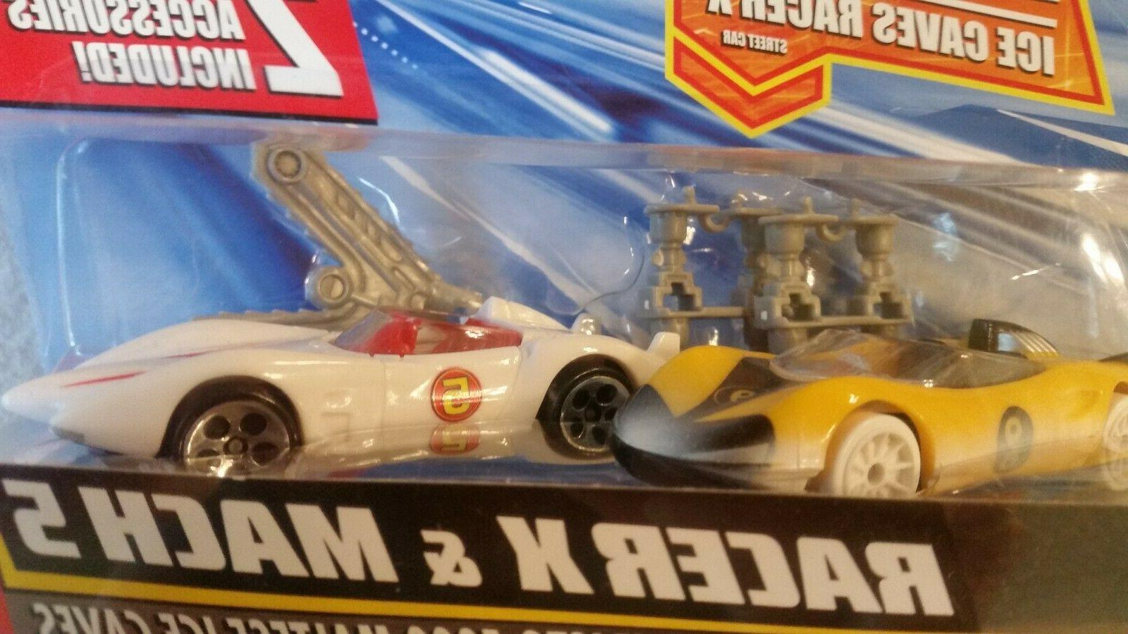Hot Racer Racer & Mach 5 set with accessories