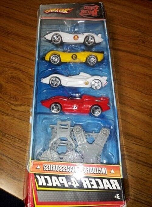 speed racer set of 4 cars