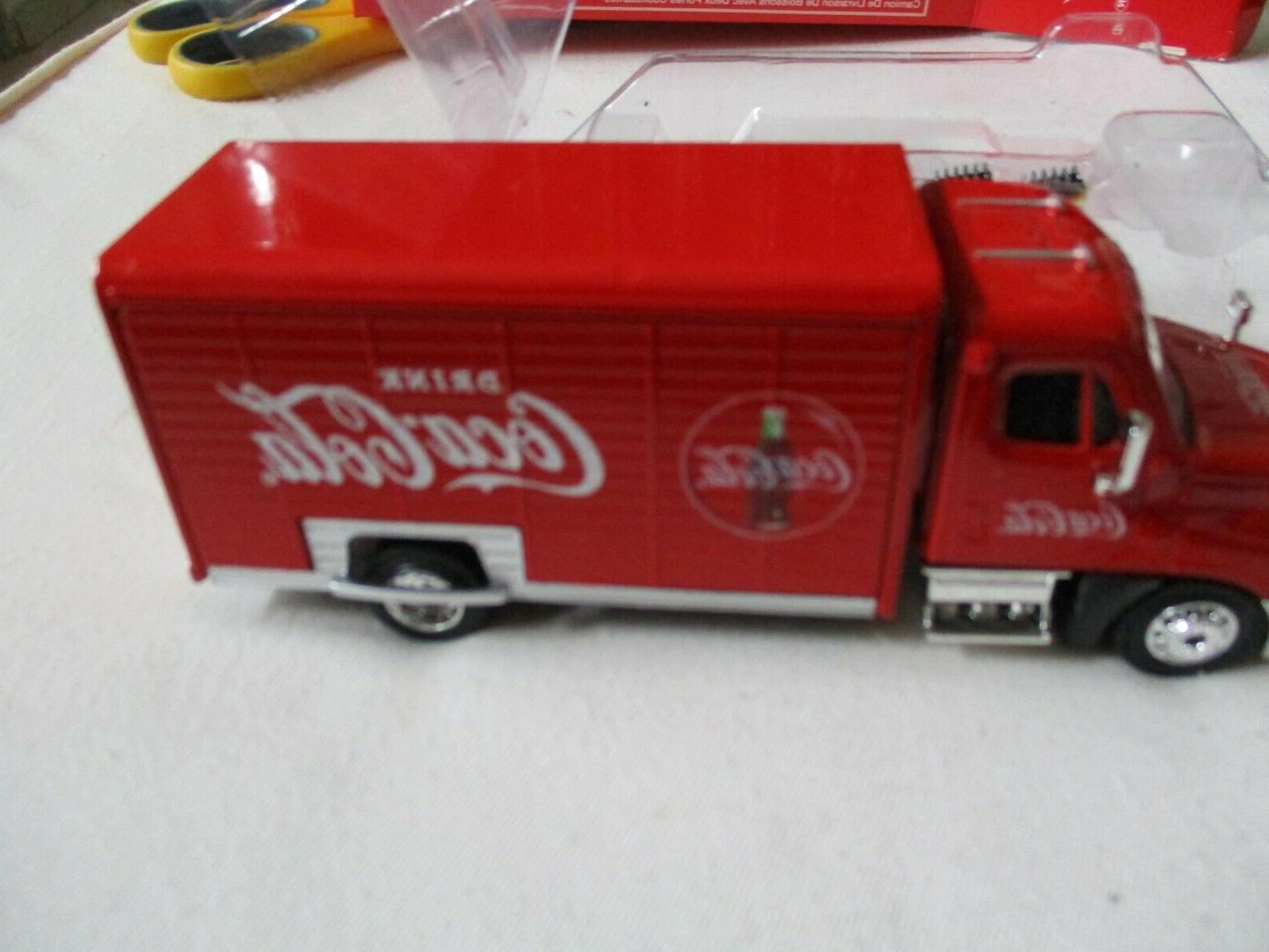 Truck Coca-Cola Motor 1/50 With