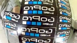 new 2pcs logo stickers decal for gopro