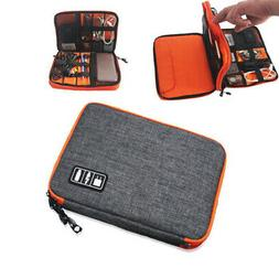 Portable Electronic Accessories Cable USB Organizer Bag Trav