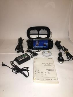 Sony PSP 1001 W/ All Accessories Instruction Manual Games Mo