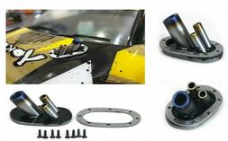 RC 1/10 HOOD EXHAUST Blue Tip Scale Accessories RC Scale Dri
