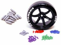 RC 1/10 Wheel LUG NUTS RC Scale Drift Accessories Red