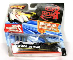 Hot Wheels Speed Racer GRX Vs MACH 6 New 2-Pack Cars Movie A