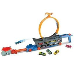Transforming Track with  Vehicle Hot Wheels Stunt & Go  Chil