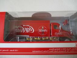 Truck Beverage Delivery Of Coca-Cola Motor City 1/50 With Ac